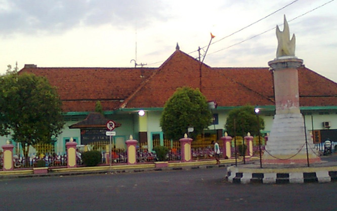 Klaten Indonesia  city photos : Di sini tempat saya selalu menginjakkan kaki pertama kali saat pulang ...